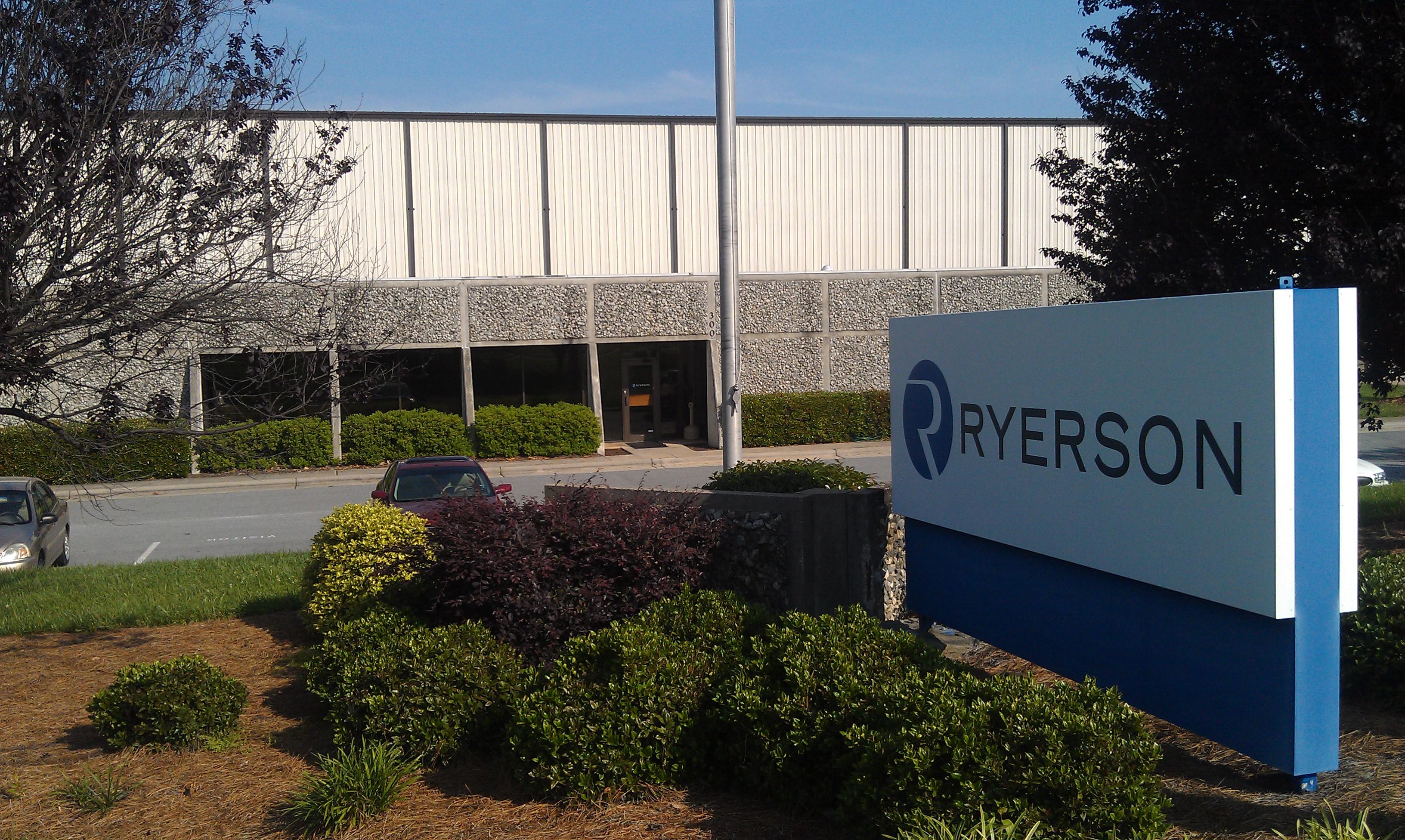 Ryerson Greensboro North Carolina Ryerson